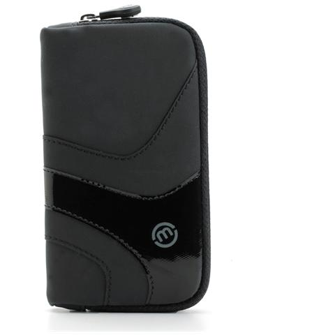MALOPERRO Mp Case For Smartphone With Zip Bk