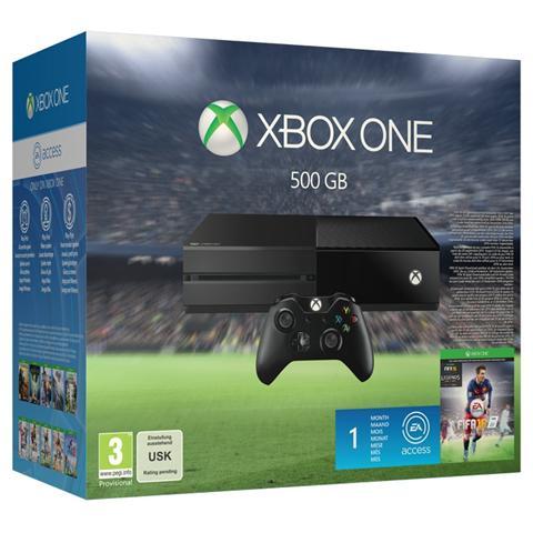 Image of Console Xbox One 500 Gb + Gioco Fifa 16