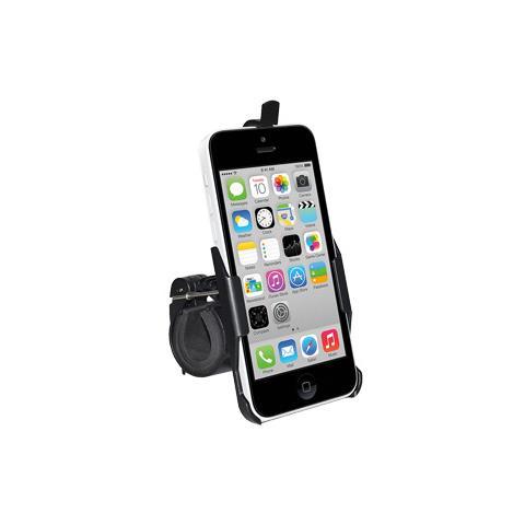 Amzer Bicycle Handlebar Mount, iPhone 5C, Telefono cellulare / smartphone, Bicicletta, Nero