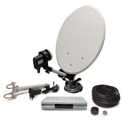 METRONIC Kit Liberty Satellitare Portatile Camping Piu Accessori