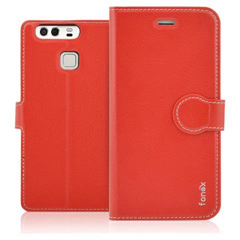 FONEX Custodia per Huawei P10 Plus Colore Rosso
