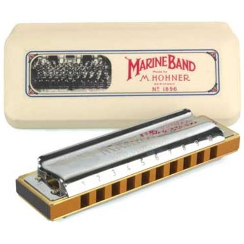 Hohner Marine Band 1896 Classic G Armonica A Bocca (sol)