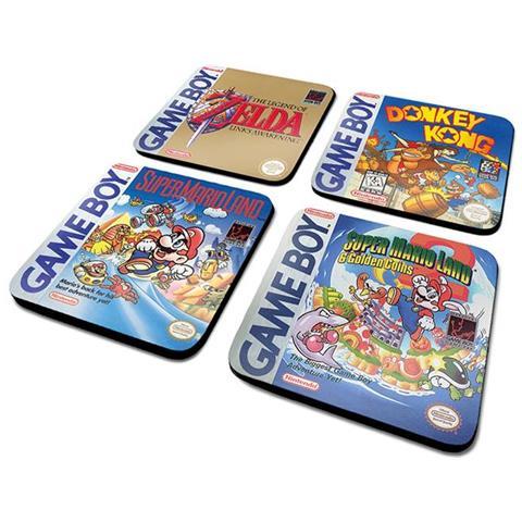 Gameboy (classic Collection) Coaster Set (set 4 Sottobicchieri)