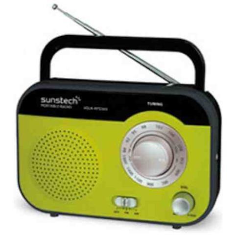 SUNSTECH RPS560, Portatile, Analogico, AM, FM, 1-via, AC, Batteria, LR14