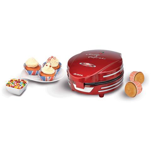Muffin Cupcake Party Time Macchina per Muffin e Cupcakes Potenza 700 Watt Colore Rosso