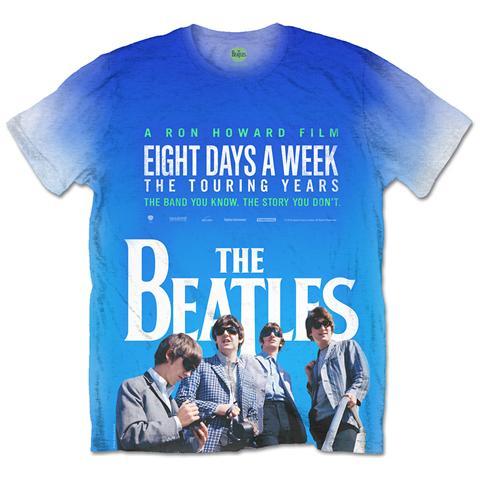 ROCK OFF Beatles (The) - 8 Days A Week Movie Poster (T-Shirt Unisex Tg. XL)