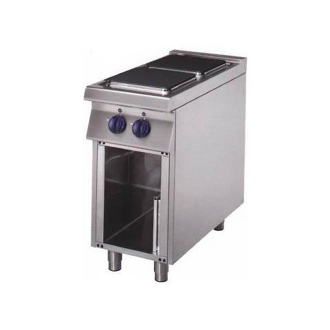 Cucina Elettrica 2 Piastre Su Mobile Cm 40x70x85 Rs0745