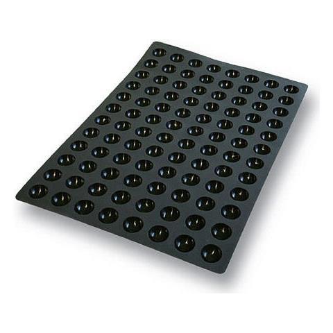 Sq015 - Sessantaquaranta N. 96 Mini Semisfereà 35 H 17,5 Mm Nero