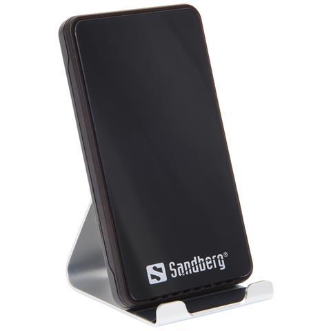 SANDBERG Wireless Charger Alu Dock 10W
