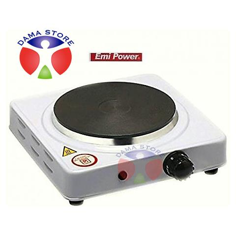 Fornello Elettrico Piastra Ghisa 1500w Viaggio Campeggio 185mm Cucina Yq-1015a