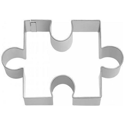 Tagliapasta In Metallo Puzzle Grande 9 Cm