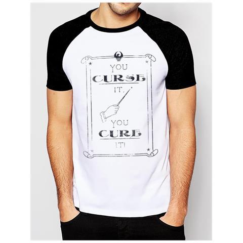 CID Fantastic Beasts - Curse (T-Shirt Unisex Tg. Xl)