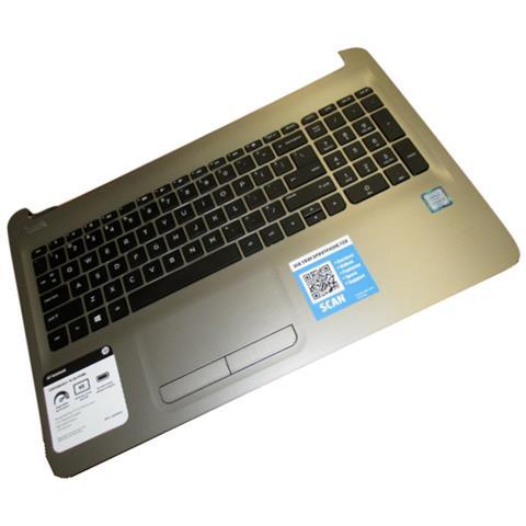 Image of 855022-061 Notebook housing base + keyboard ricambio per notebook