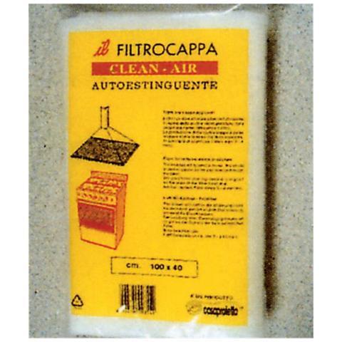MARGOM Filtro a Carbone Attivo Clean-Air 80 x 40 cm