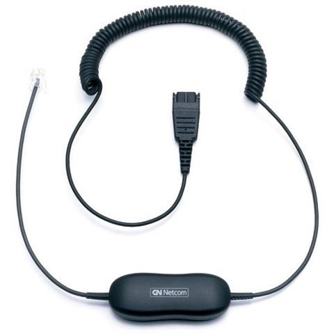 JABRA Smart cord QD -> RJ10, QD, RJ10