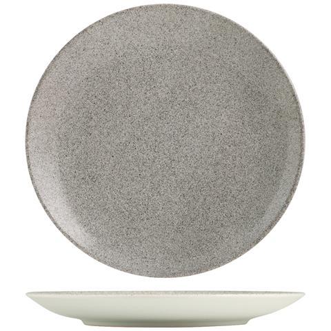 H&H Piatto Ceramica Marion Tavola Piano Cm27 Stoviglie