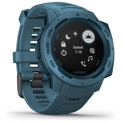 Smartwatch Instict Solar Impermeabile Display 0.9'' Cardiofrequenza GPS Bluetooth Colore B...