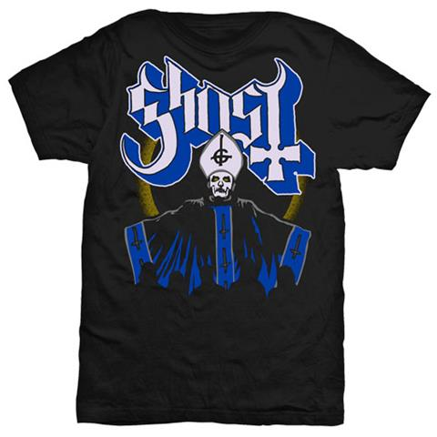 ROCK OFF Ghost - Papa & Band (T-Shirt Unisex Tg. L)