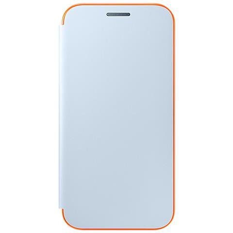 SAMSUNG Flip Cover Neone per Galaxy A3 2017 Colore Blu