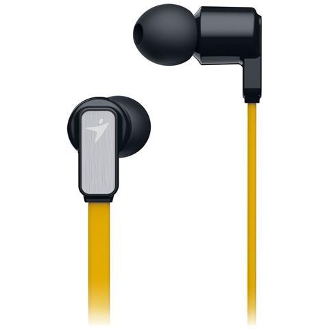 "GENIUS HS-M260, Stereofonico, 3.5 mm (1/8"") , Giallo, Cablato, Intraurale, 20 - 15000 Hz"