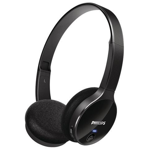 PHILIPS SHB4000 - Cuffie - sovrauricolare - wireless - Bluetooth 3.0 EDR