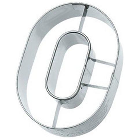 Tagliapasta Numero 0 In Metallo 6 Cm
