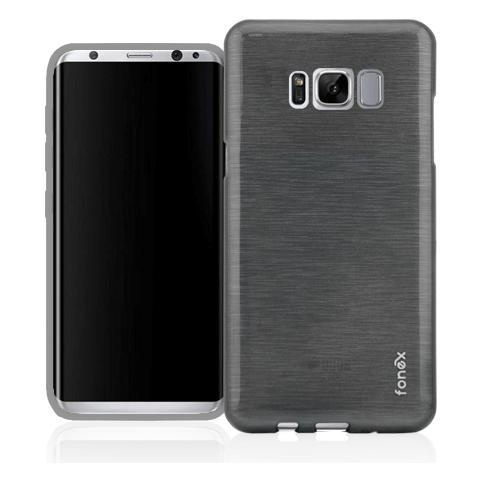 FONEX Cover in TPU per Galaxy S8 Plus Nero