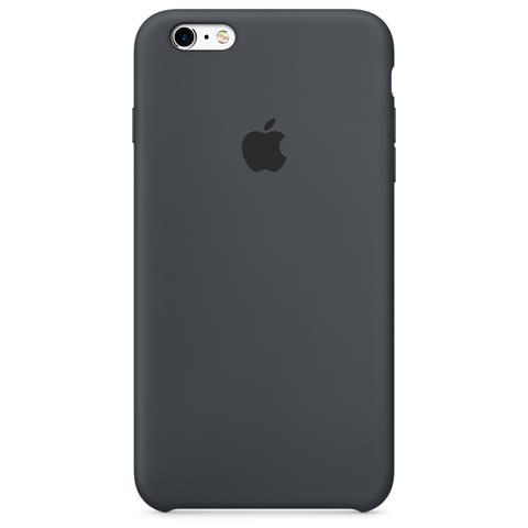 APPLE Custodia in Silicone per iPhone 6S Antracite