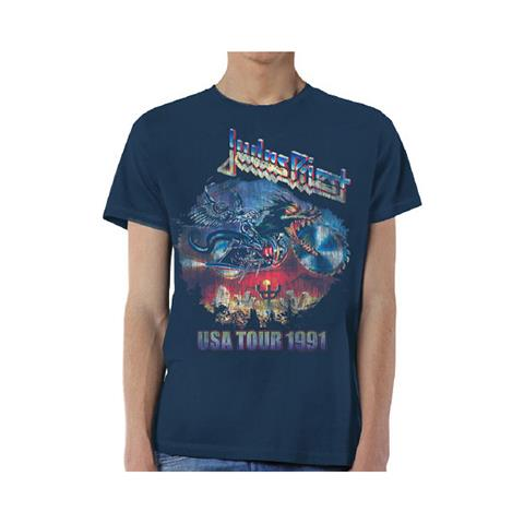 ROCK OFF Judas Priest - Painkiller Us Tour 91 (T-Shirt Unisex Tg. L)