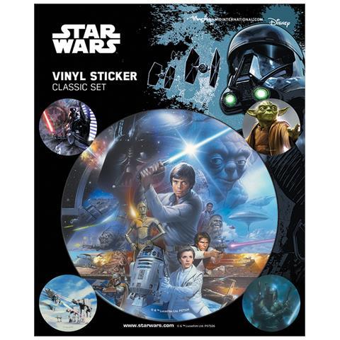 PYRAMID Star Wars: Classic Sticker Pack (set Adesivi 12,5x10 Cm)