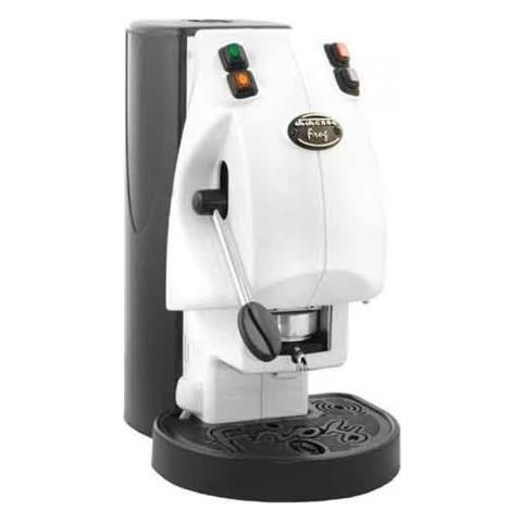 Caffe Borbone Frog Libera installazione Semi-automatica Macchina per caffè con capsule 2L 1tazze Nero, Bianco