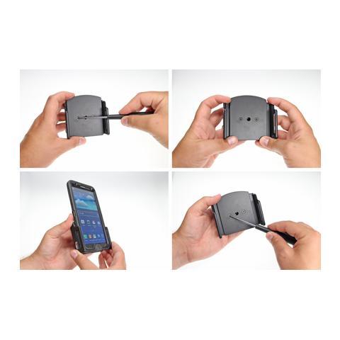 BRODIT 511483 Auto Passive holder Nero supporto per personal communication