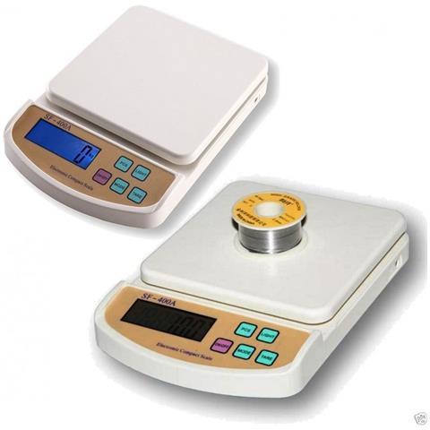 Bilancia Digitale Elettronica Da Cucina Precisione Pesa Da 1 Gr A 5 Kg Tara