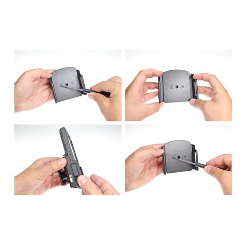 BRODIT 511484 Universale Passive holder Nero supporto per personal communication