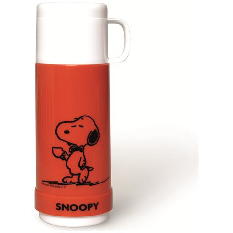 EXCELSA Termos Peanuts Snoopy lt. 0,5 rosso.