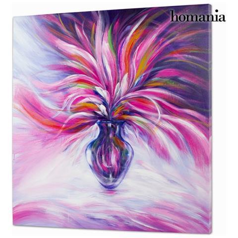 Homania Dipinto Olio Vaso By