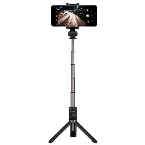 HUAWEI Bastone per Selfie con Treppiedi per Smarphone AF15 Bluetooth con Telecomando Universale Nero