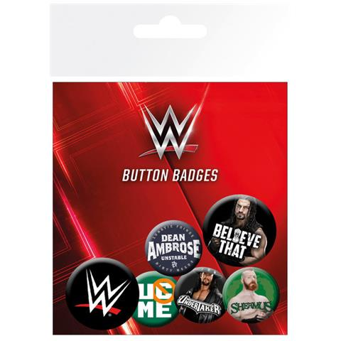 GB EYE Wwe - Logos (badge Pack)
