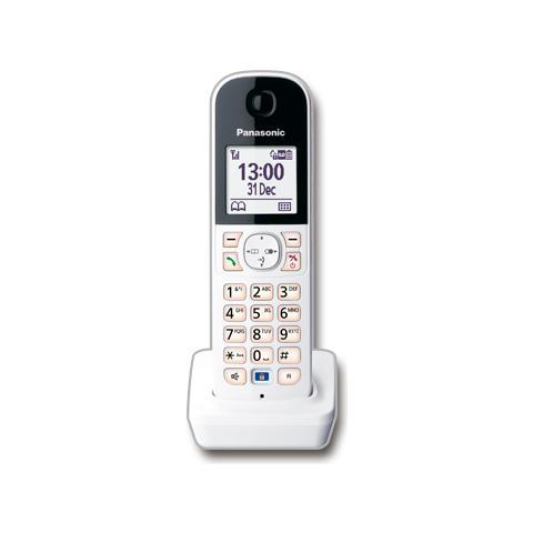 PANASONIC KX-HNH100EX1 Cordless DECT Handset colore Bianco