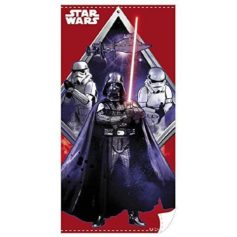 BEACH FACTORY, THE Star Wars Asciugamano Telo Mare Pelstra Piscina Darth Fener Vader 140 X 70 Cm