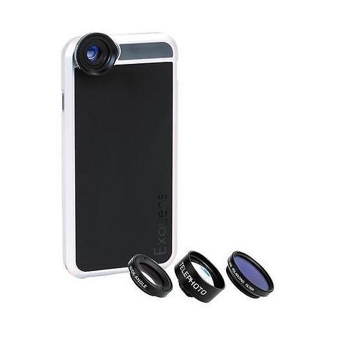 EXOLENS custodia 4 Lens kit per iPhone 6 / 6s