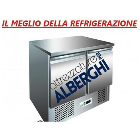 Saladette Tavolo Refrigerato Statica 2 Porte