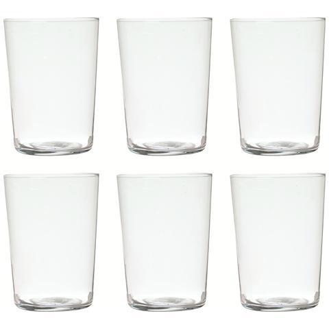 Set 6 Bicchieri Acqua New York