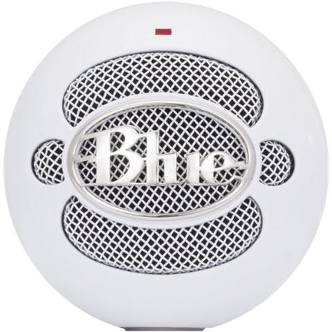 BLUE MICROPHONES Snowball Ice Microfono Professionale Usb per Windows e Mac