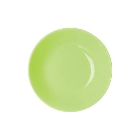 EXCELSA Piatto Fondo Trendy Verde Cm20