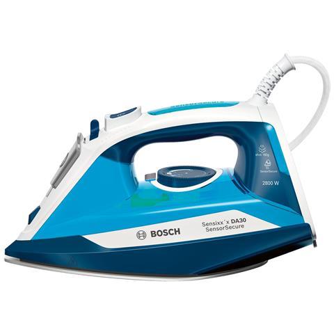 Image of Ferro da Stiro a Secco e a Vapore TDA3028210 Capacità 0.32 Litri Potenza 2800 Watt Colore Bianco / Azzurro