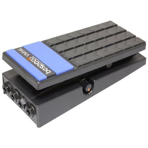 Bespeco Vm14L - Pedale per Volume con Attacco Stereoper Tastiera colore Nero