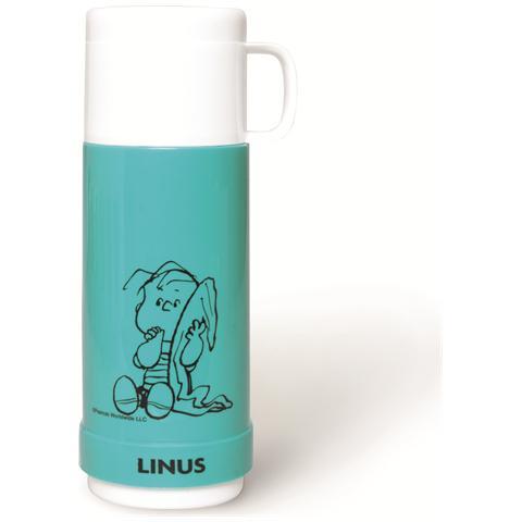 EXCELSA Thermos Peanuts Linus lt. 0,5 azzurro.