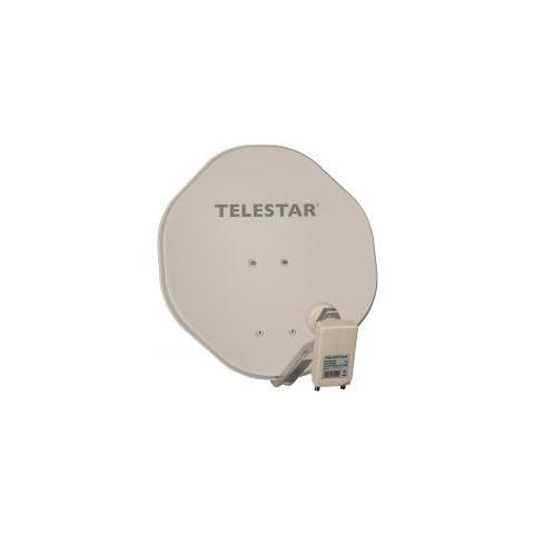 Telestar AluRapid 45 2, 45 cm, Beige, Alluminio