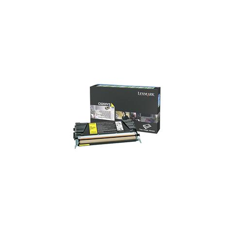 Image of 00C5200YS Toner Originale Giallo per Lexmark C530 / C530dn Capacit